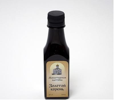 «Золотой корень (родиола розовая)». спиртовая настойка, 220 мл.