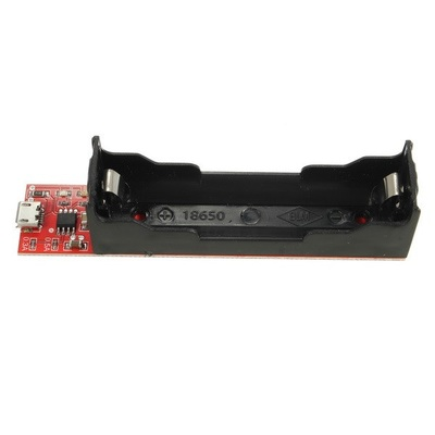 Модуль заряда TEC4056 с держателем для 18650