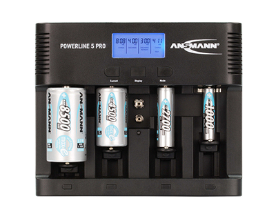 ANSMANN POWERline 5 LCD